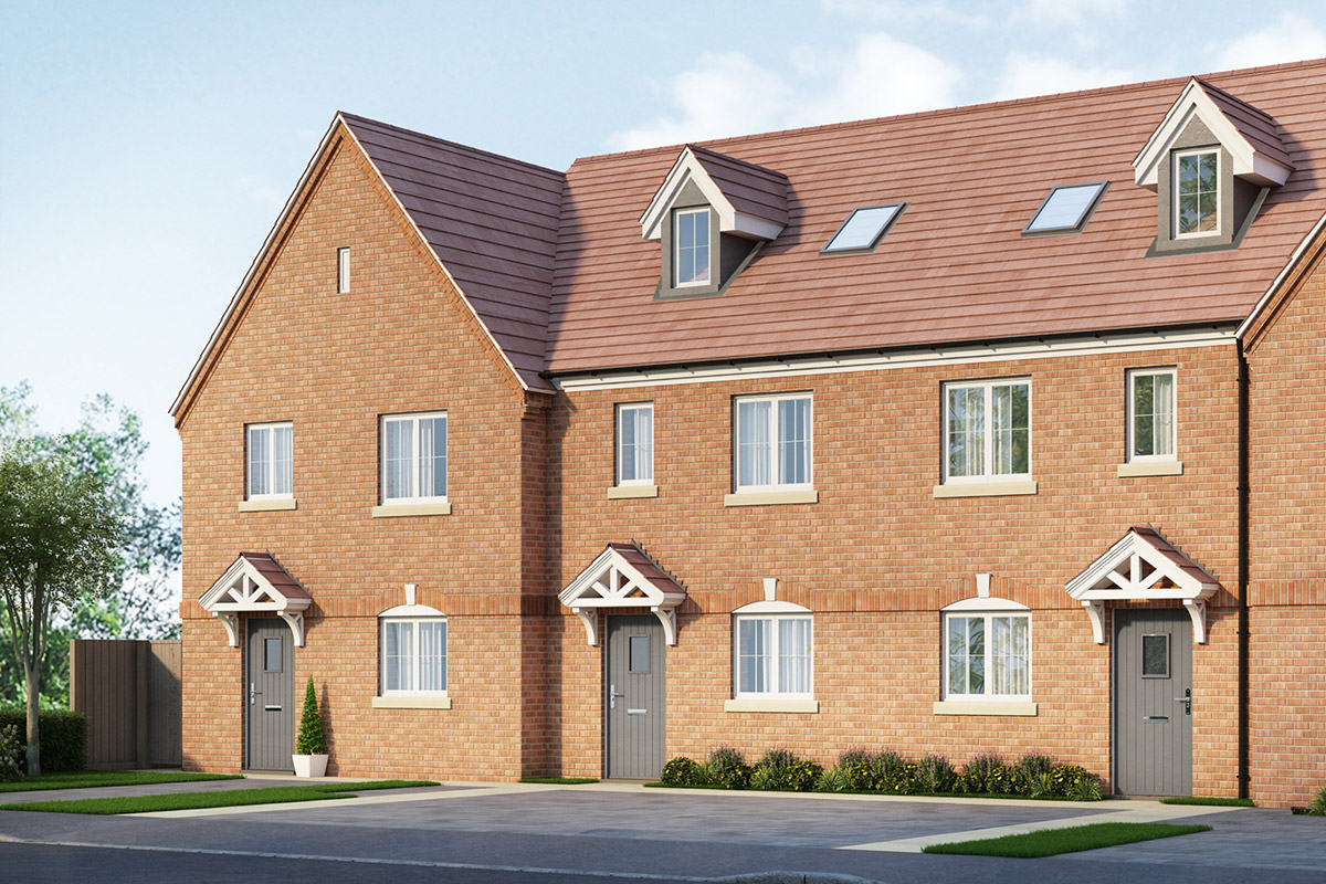 Thursby Gate, Abington - Plot 2