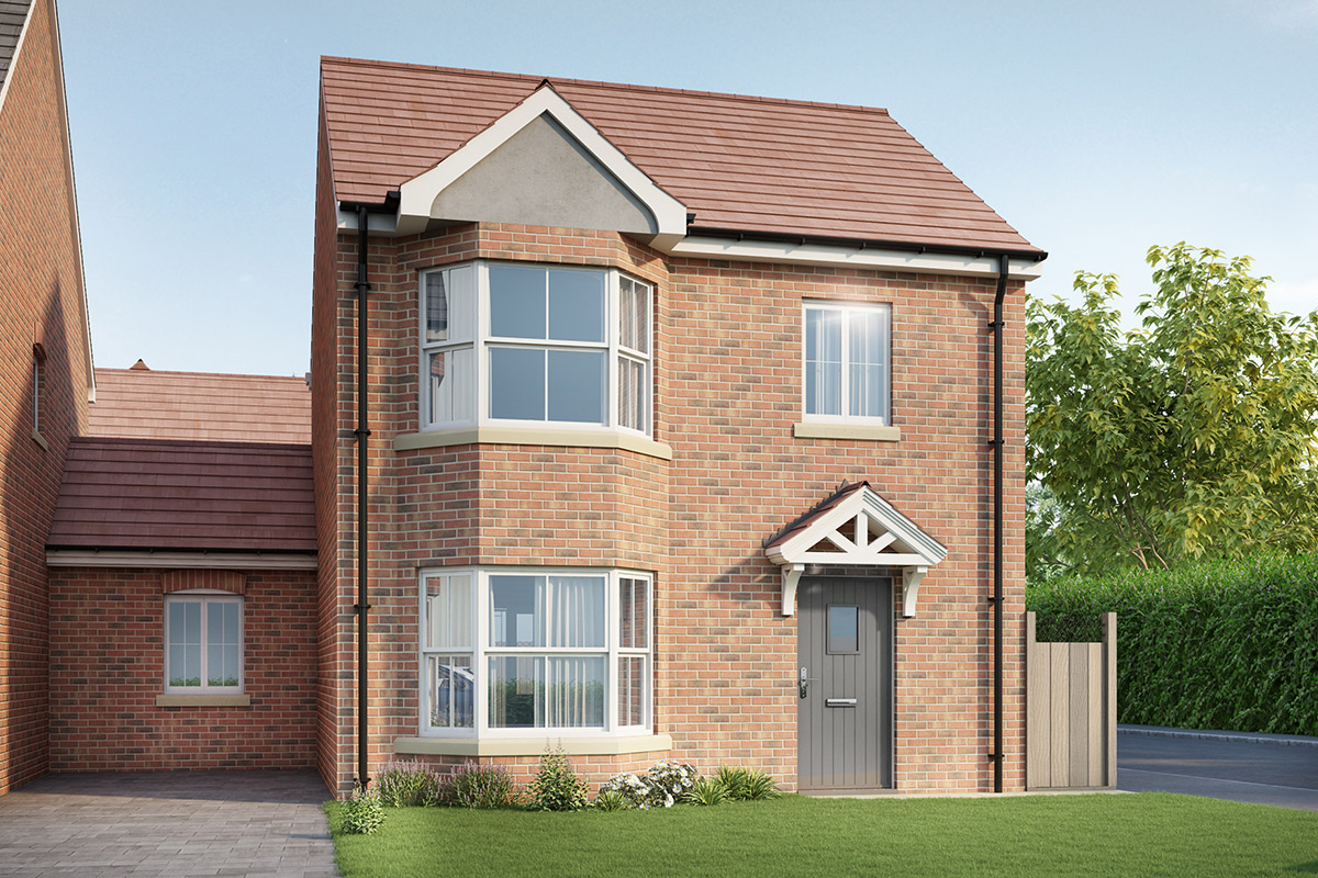 Thursby Gate, Abington - Plot 12