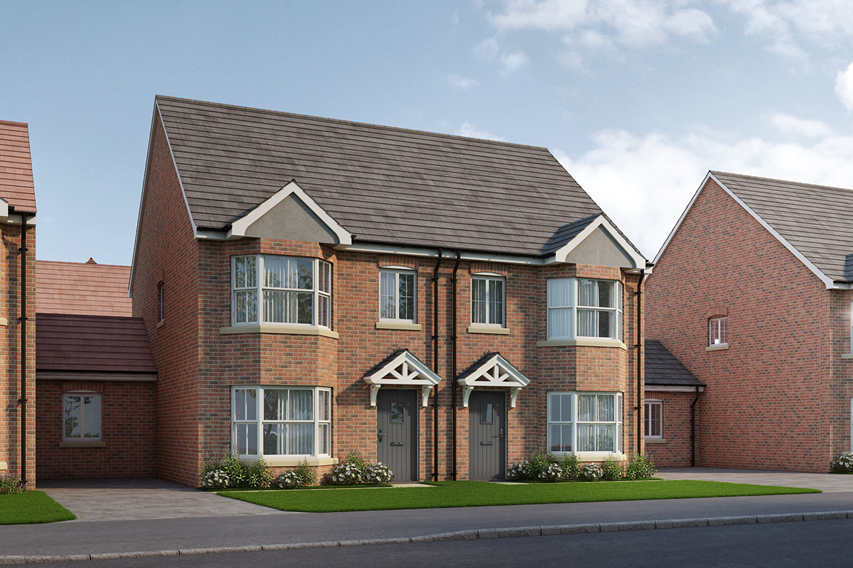 Thursby Gate, Abington - Plot 8